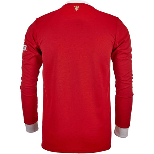 2021/22 adidas Manchester United L/S Home Jersey