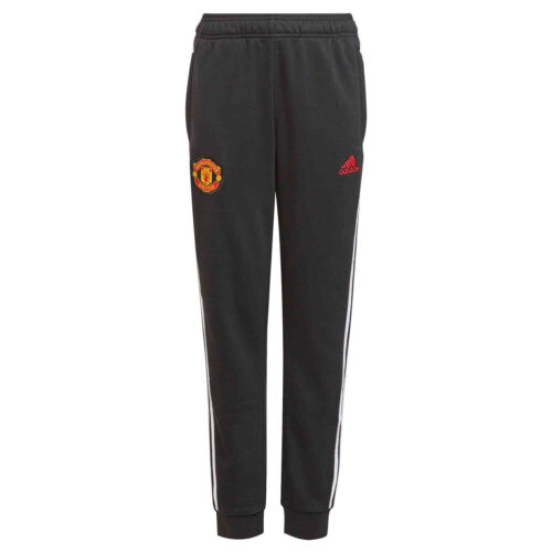 Kids adidas Manchester United Sweat Pants – Black