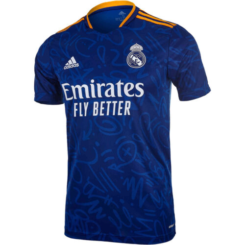 2021/22 Kids adidas Rodrygo Real Madrid Away Jersey