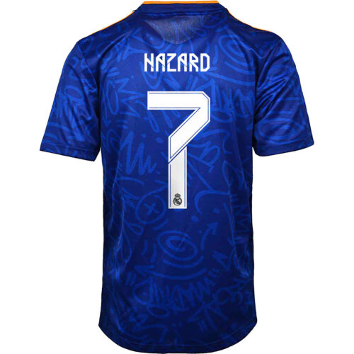 2021/22 Kids adidas Eden Hazard Real Madrid Away Jersey