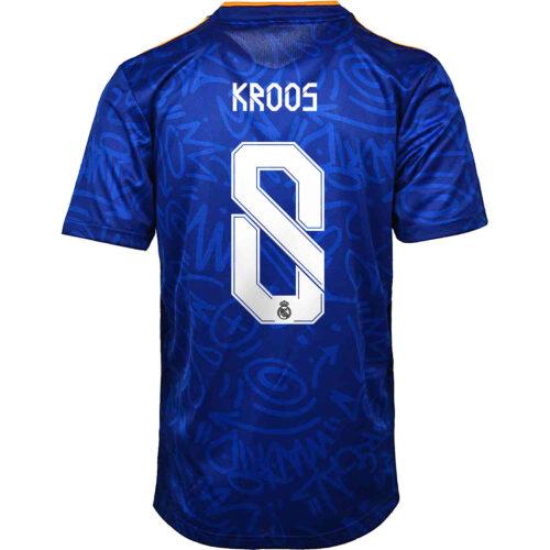 2021/22 Kids adidas Toni Kroos Real Madrid Away Jersey