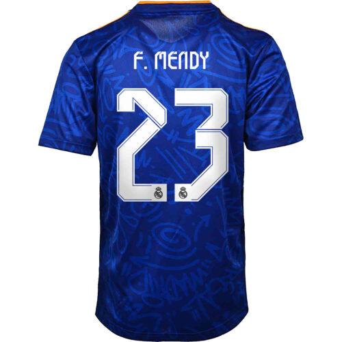 2021/22 Kids adidas Ferland Mendy Real Madrid Away Jersey
