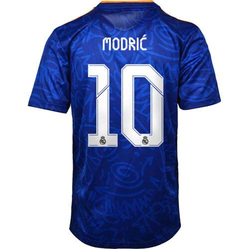 2021/22 Kids adidas Luka Modric Real Madrid Away Jersey