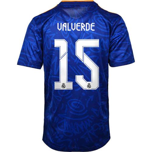 2021/22 Kids adidas Federico Valverde Real Madrid Away Jersey