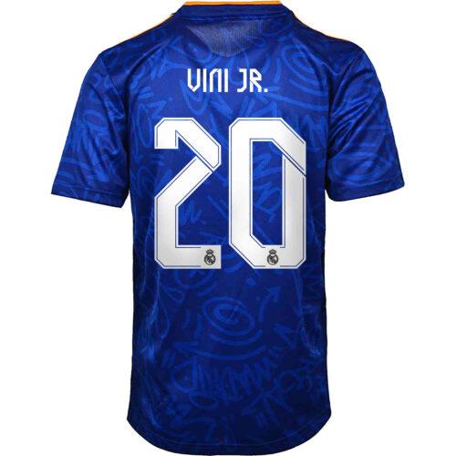 2021/22 Kids adidas Vinicius Jr Real Madrid Away Jersey
