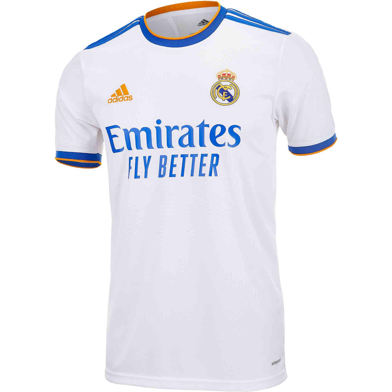 2021/22 Kids adidas Real Madrid Home Jersey - SoccerPro