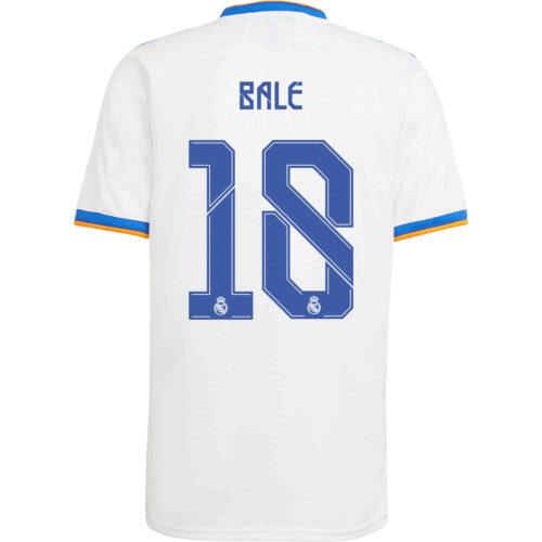 2021/22 Kids adidas Gareth Bale Real Madrid Home Jersey