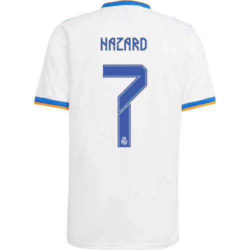 2021/22 Kids adidas Eden Hazard Real Madrid Home Jersey