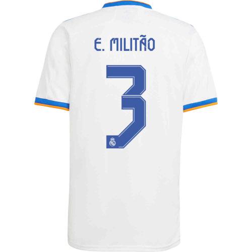 2021/22 Kids adidas Eder Militao Real Madrid Home Jersey