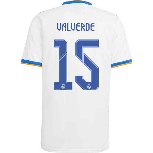 2021/22 Kids adidas Federico Valverde Real Madrid Home Jersey