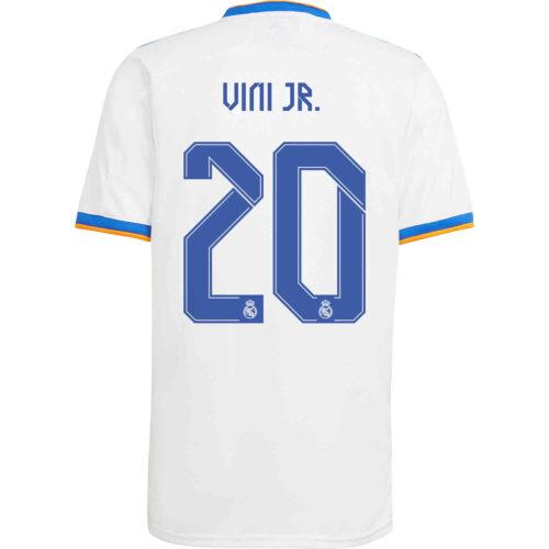 2021/22 Kids adidas Vinicius Jr Real Madrid Home Jersey