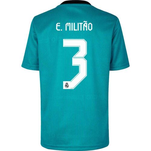 2021/22 Kids adidas Eder Militao Real Madrid 3rd Jersey