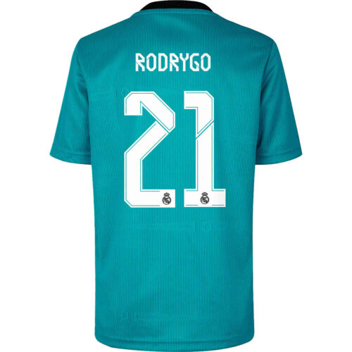 2021/22 Kids adidas Rodrygo Real Madrid 3rd Jersey