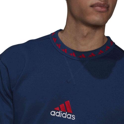 adidas Arsenal Icons Crew – Mystery Blue/Scarlet