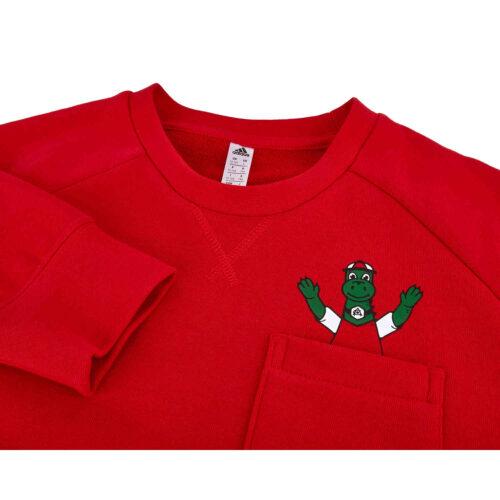 Kids adidas Arsenal Sweatshirt – Scarlet