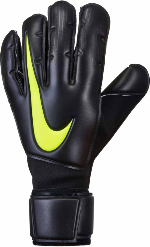 Nike Vapor Grip3 Goalkeeper Gloves – Black/Volt