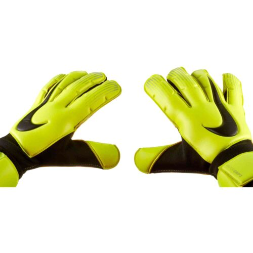 Nike Vapor Grip3 Goalkeeper Gloves – Volt/Black