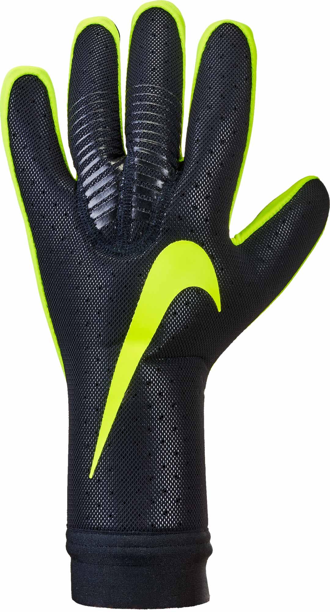 Nike Vapor Touch Goalkeeper Gloves - Black Volt - SoccerPro.com be5084f33a