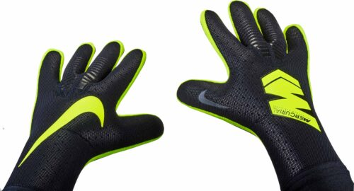 Nike Vapor Touch Goalkeeper Gloves – Black/Volt