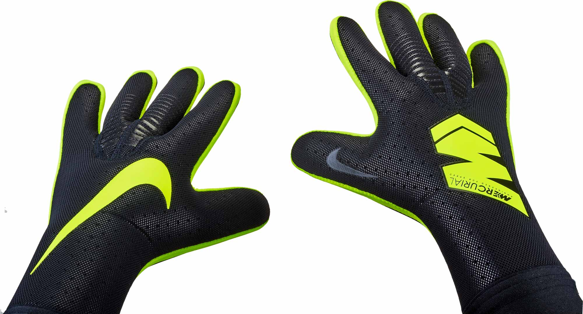 Nike Vapor Touch Goalkeeper Gloves - Black Volt - SoccerPro.com 6190dd885