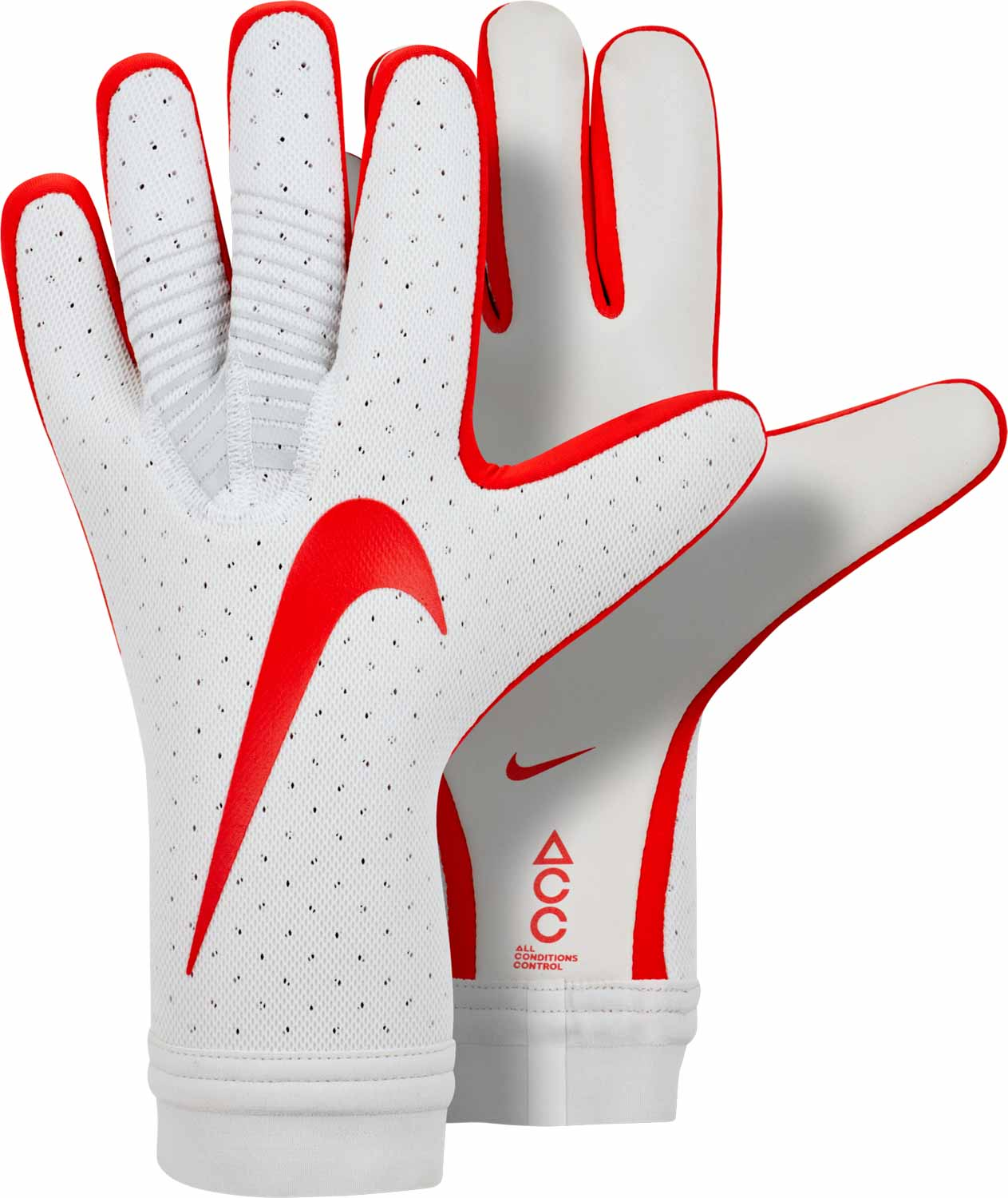 Nike Mercurial Touch Elite Goalkeeper Gloves – Pure Platinum Light Crimson 19a8cbd72