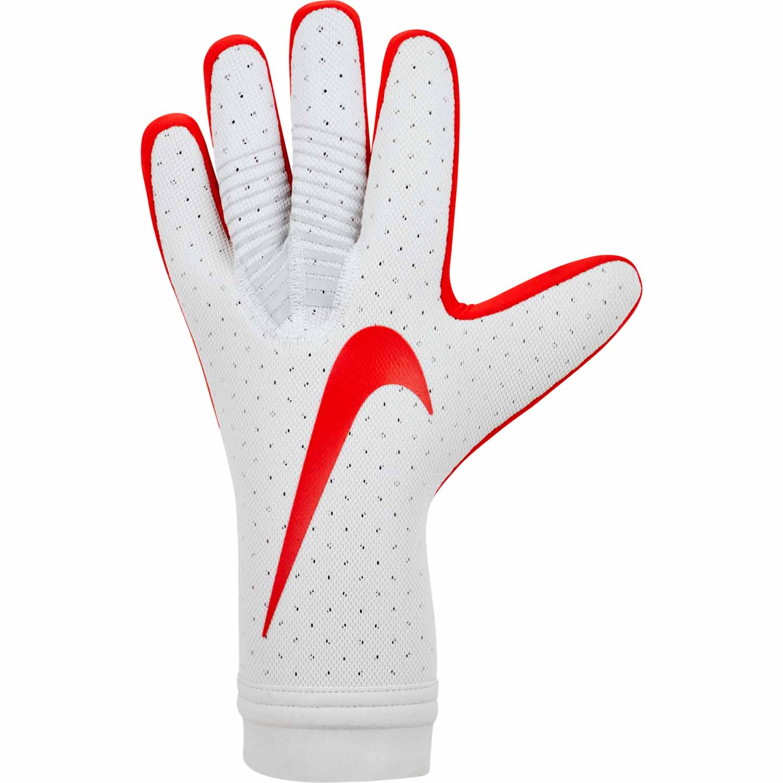 8a5c74b31 Nike Mercurial Touch Elite Goalkeeper Gloves – Pure Platinum/Light Crimson