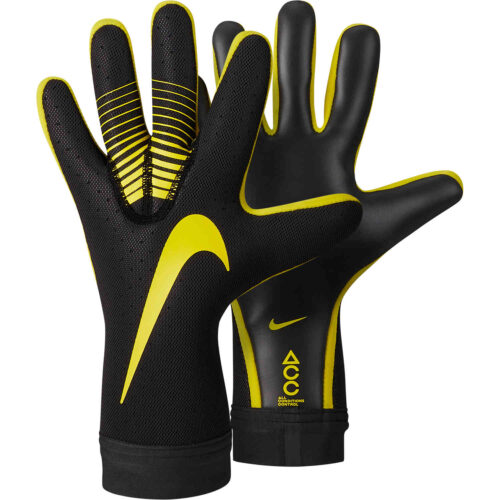 Nike Mercurial Touch Elite Goalkeeper Gloves – Anthracite/Opti Yellow