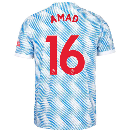 2021/22 Kids adidas Amad Diallo Manchester United Away Jersey