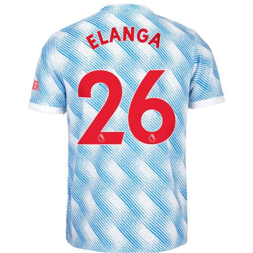 2021/22 Kids adidas Anthony Elanga Manchester United Away Jersey