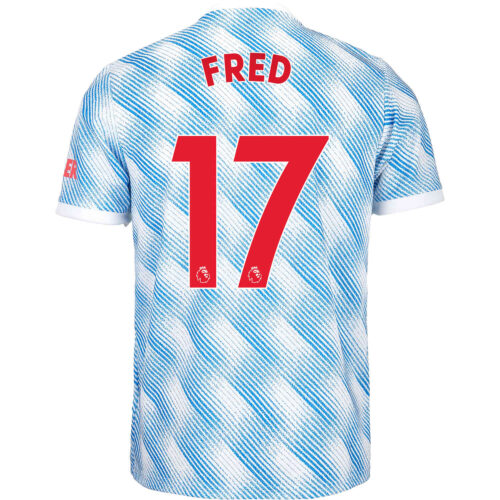 2021/22 Kids adidas Fred Manchester United Away Jersey