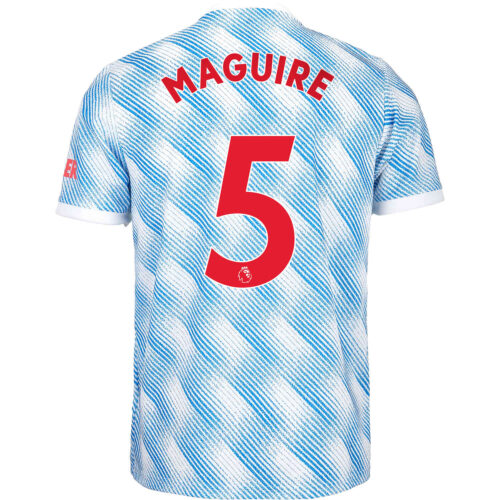 2021/22 Kids adidas Harry Maguire Manchester United Away Jersey