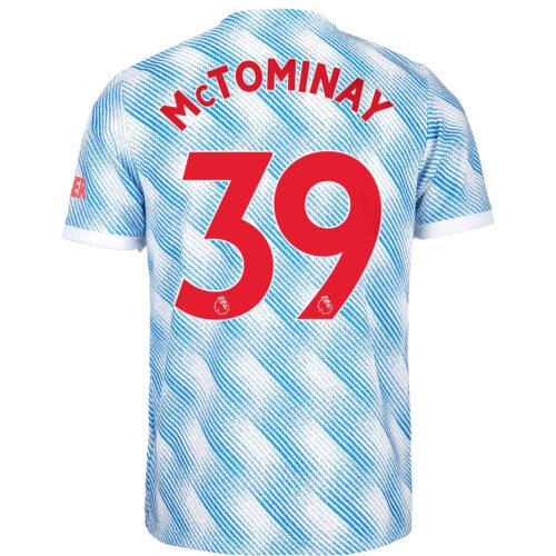 2021/22 Kids adidas Scott McTominay Manchester United Away Jersey