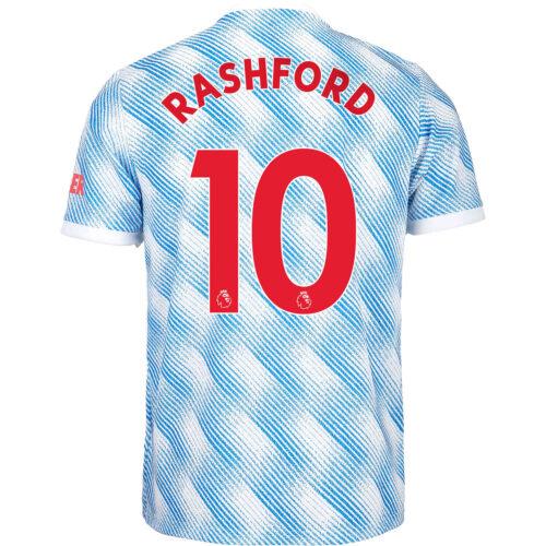 2021/22 Kids adidas Marcus Rashford Manchester United Away Jersey