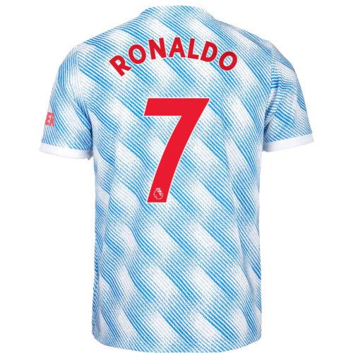 2021/22 Kids adidas Cristiano Ronaldo Manchester United Away Jersey