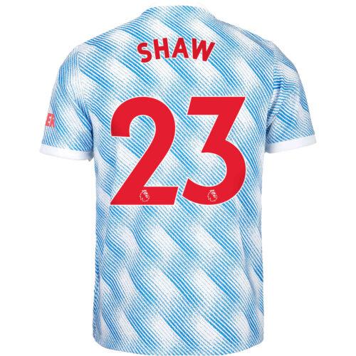 2021/22 Kids adidas Luke Shaw Manchester United Away Jersey