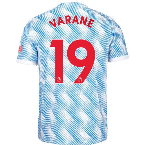2021/22 Kids adidas Raphael Varane Manchester United Away Jersey