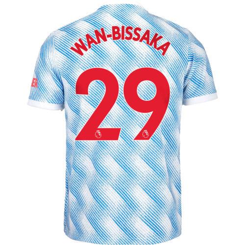 2021/22 Kids adidas Aaron Wan-Bissaka Manchester United Away Jersey