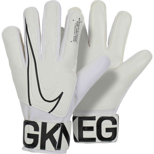 Nike Match Goalkeeper Gloves – White/Black