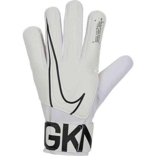 Nike Match Goalkeeper Gloves – White/Black