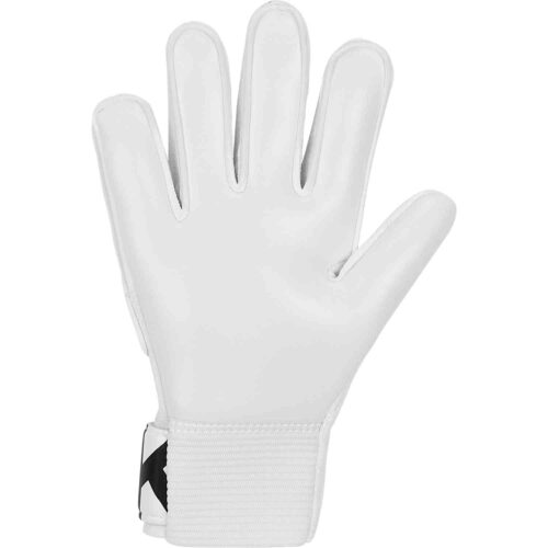 Kids Nike Match Goalkeeper Gloves – White/Black