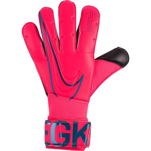 Nike Vapor Grip3 Goalkeeper Gloves – Laser Crimson/Black