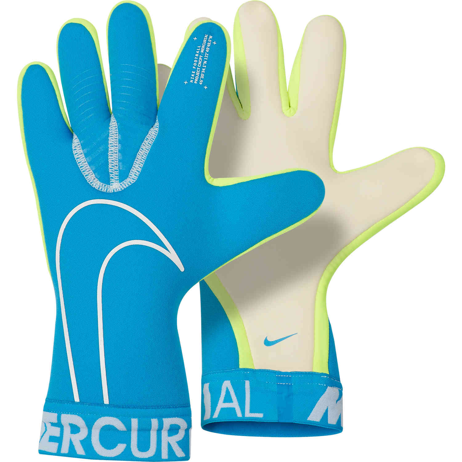 buy online 6e739 62f84 Nike Mercurial Touch Victory Goalkeeper Gloves – New Lights