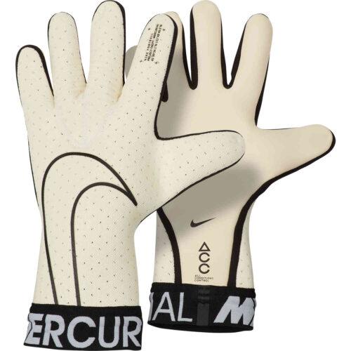 Nike Mercurial Touch Elite Goalkeeper Gloves – White/Black