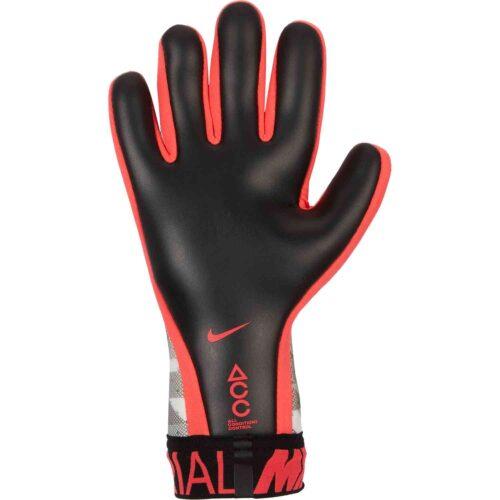 Nike GFX Mercurial Touch Elite Goalkeeper Gloves – White/Black/Laser Crimson