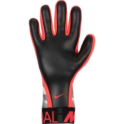 Nike GFX Mercurial Touch Victory Goalkeeper Gloves – White/Black/Laser Crimson