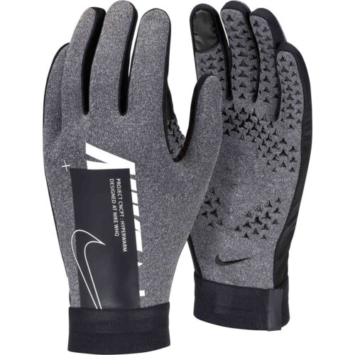 Nike Air Hyperwarm Academy Fieldplayer Gloves – Charcoal Heather