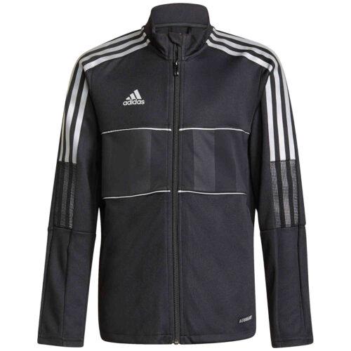 Kids adidas Tiro Reflective Track Jacket – Black