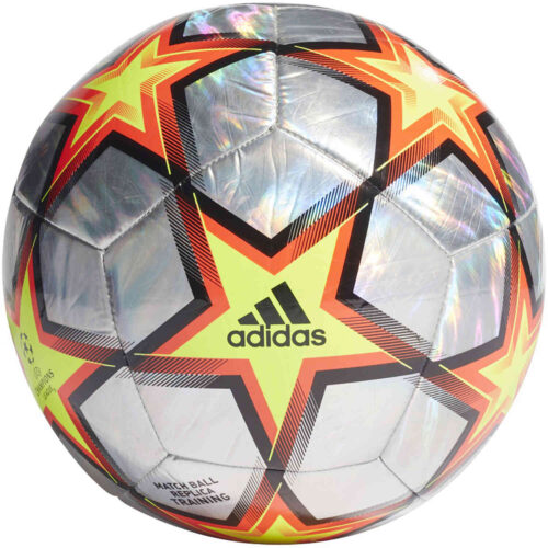 adidas Pyrostorm Hologram Finale 21 Training Soccer Ball – Champions League