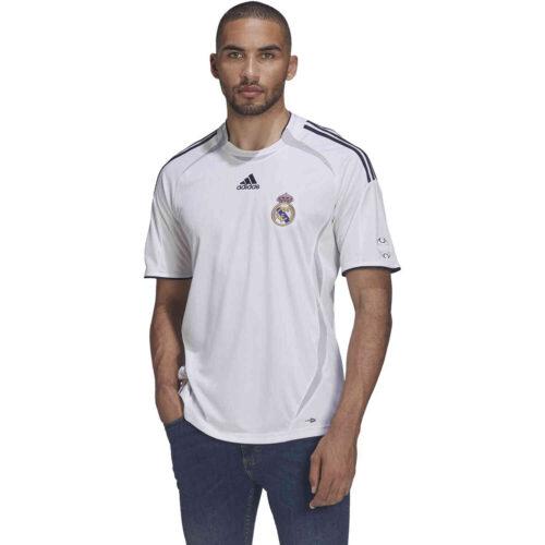 adidas Real Madrid Teamgeist Training Jersey – White