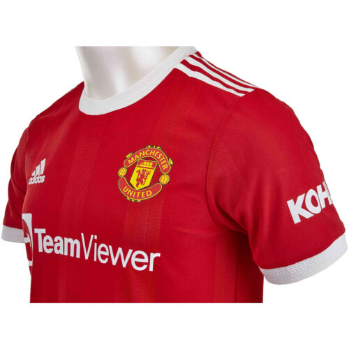2021/22 adidas Bruno Fernandes Manchester United Home Authentic Jersey